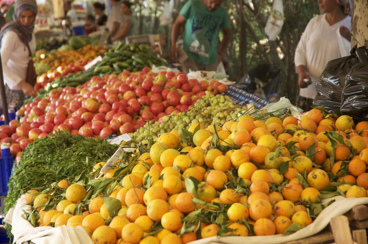oranges 0,50 € le kilo