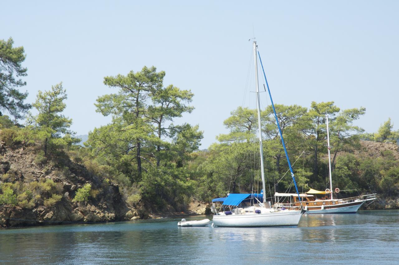 Green Island au mouillage