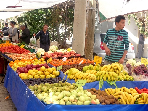 le marché de Datça