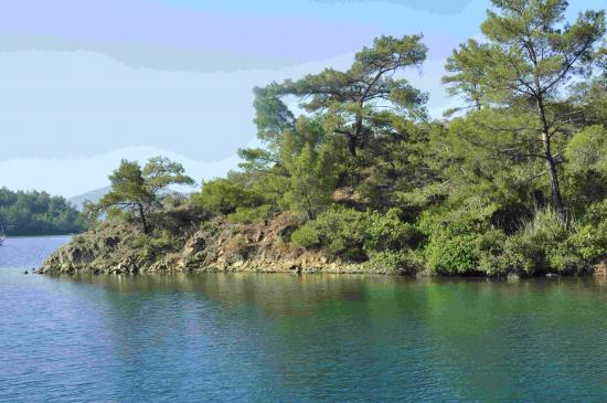 dans le golfe d'Hisarönü