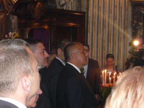 LE PREMIER MINISTRE BULGARE , église orthodoxe