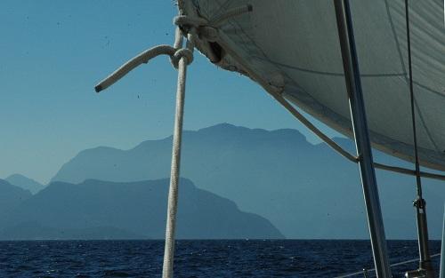 navigation dans le golfe de Bodrum
