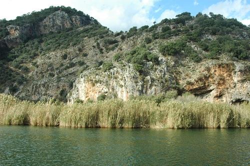 la rivière de CAUNUS