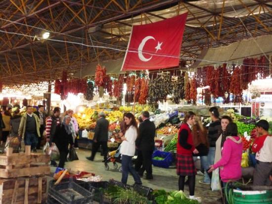 le marché à Mugla