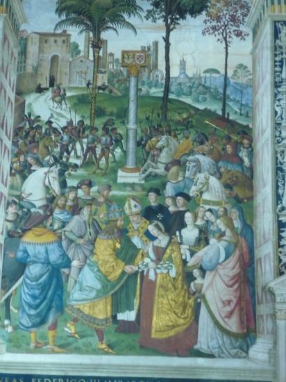 CATHEDRALE - fresque sur PIE II
