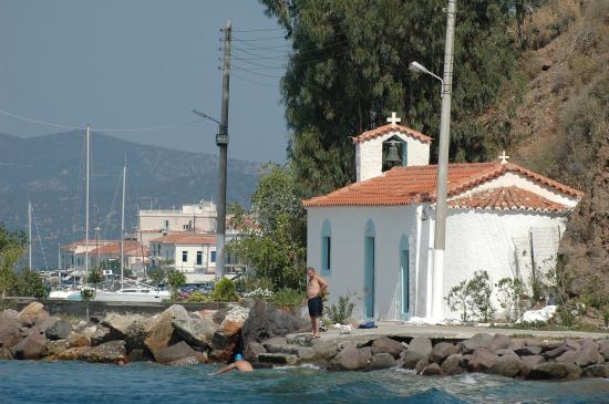 chenal de l'île de POROS