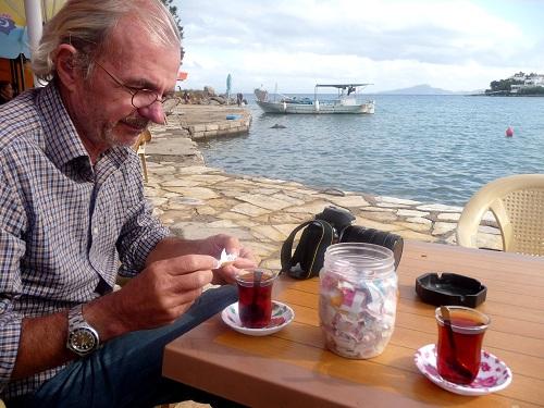 boire du thé !