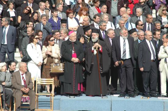 l'Evèque et le le Pope