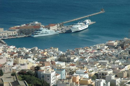 le port d'Ermoupolis
