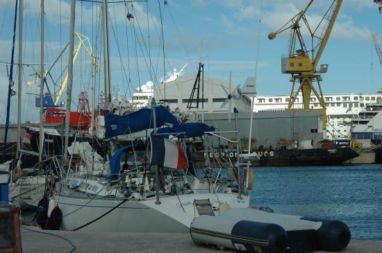 green Island au port