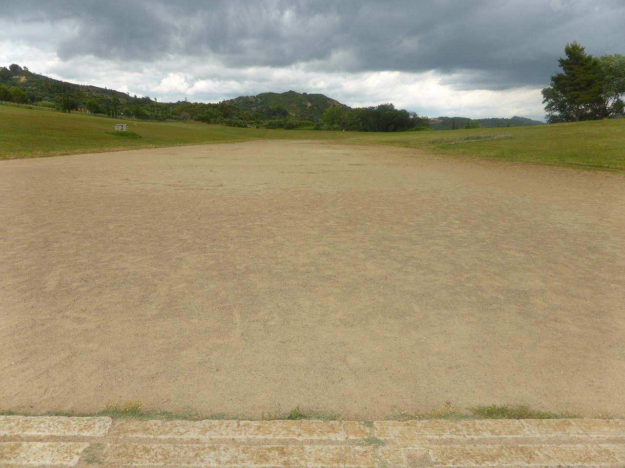 le stade est désormais désert….
