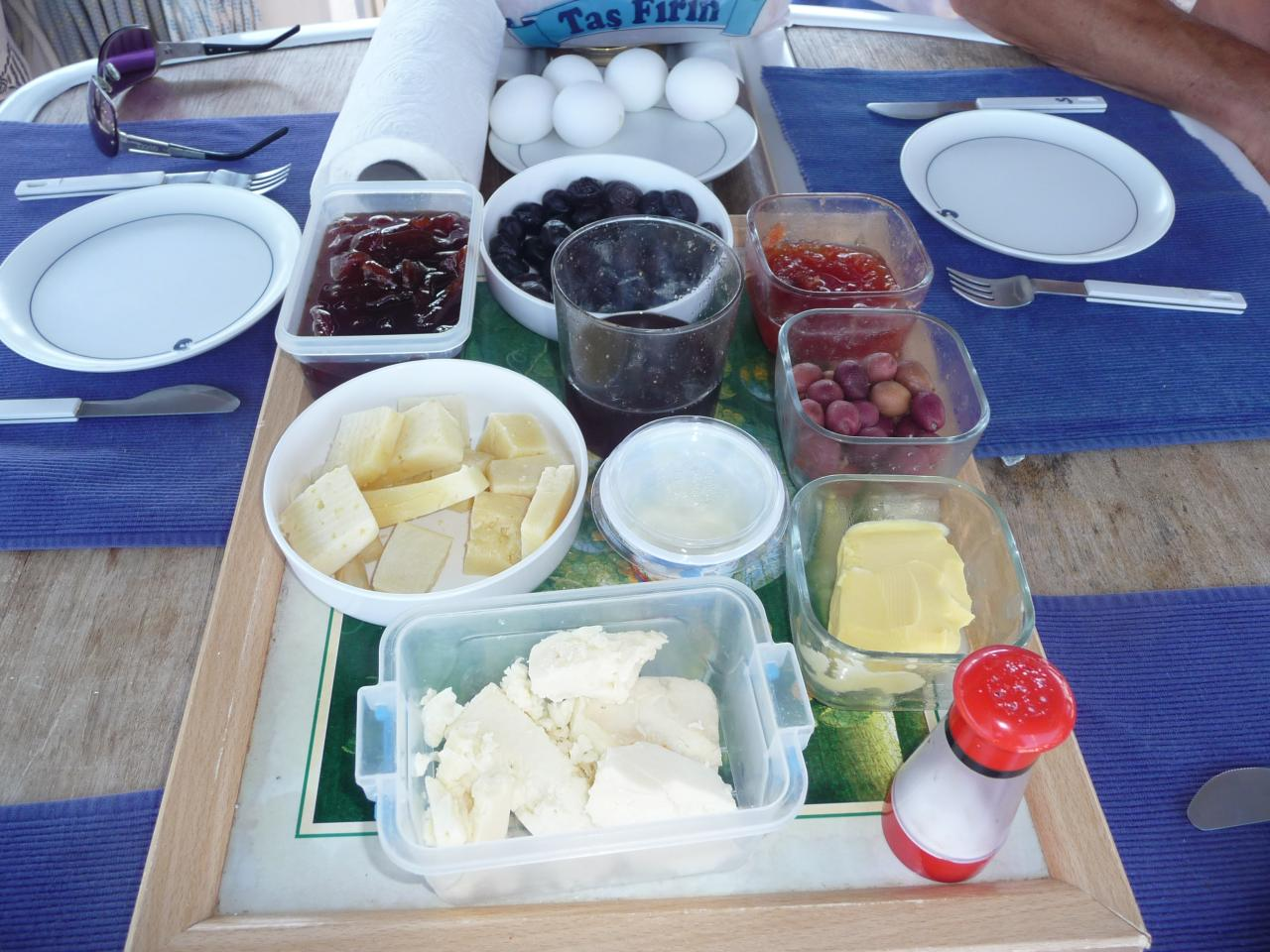 petit déjeuner turc !!!